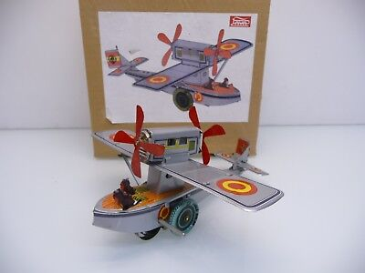 Vintage Paya Wasserflugzeug 1905 Hidroavion No. 656 911 002 Tin Toy TOP OVP