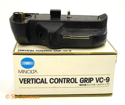 Genuine Minolta Vc-9 Vertical Control Grip For Dynax 9 *Very Good*