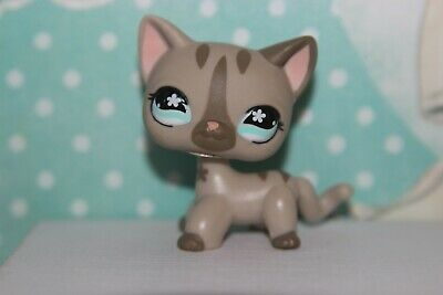 Authentic Littlest Pet Shop #468 Cat Short Hair Kitty Original LPS