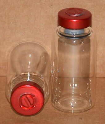 USP 20 mL Clear Sterile Vial With Red Center Tear Seal Any Qty.