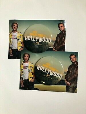 Once Upon A Time In Hollywood (2019) - Set of 2 Pins