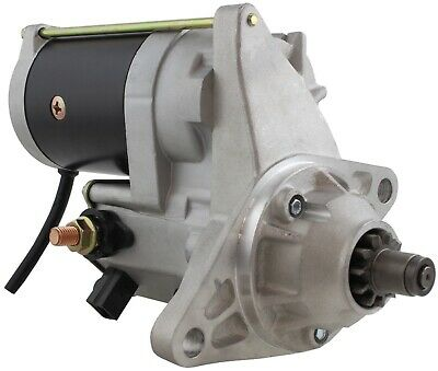 New Starter for Link Belt Excavator LS4300 w/ Isuzu 6SA1 replaces 128000-2742