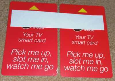 2 x Nagra/Nagravision TV Smart Viewing Card - Untested so sold as spares!
