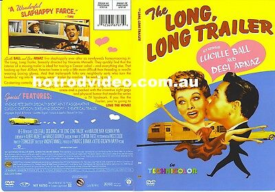 THE LONG LONG TRAILER DVD ...vintage caravans Lucille Ball Desi Arnez