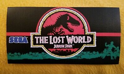 The Lost World marquee sticker. 3.75 x 7.25. (Buy any 3 stickers, GET ONE FREE!)
