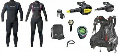 Mares Holiday Set with Manta 2,2 mm Suit Diving Equipment Dive Set Complete Set