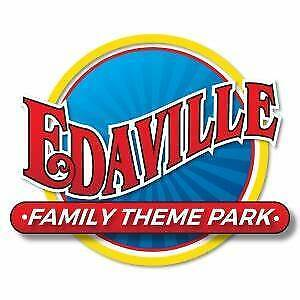 4 Tix !! Edaville Family Theme Park In Carver, Ma - One Day Passes