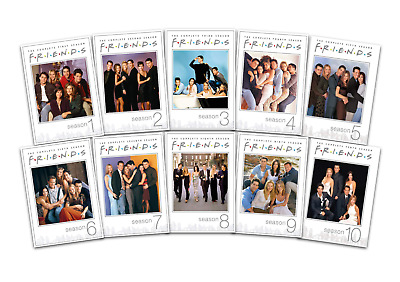 Friends: Complete Seasons 1-10 (DVD, 31-Disc Set) 25th Anniversary Edition, New