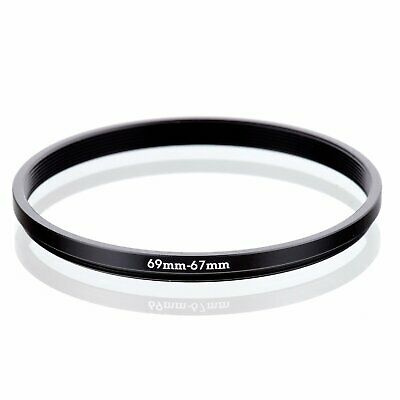 69-67 69mm to 67mm 69-67mm Matel Step-down Stepping Down Ring Filter Adapter
