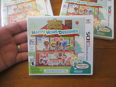 Animal Crossing Happy Home Designer NINTENDO 3DS AMIIBO CARD INCLUDED NEW SEALED