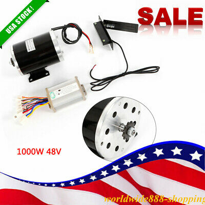 1000W 48V DC electric motor kit control box f scooter ebike