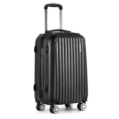 Wanderlite 24' Luggage Sets Suitcase Trolley TSA Travel Hard Case Lightweight