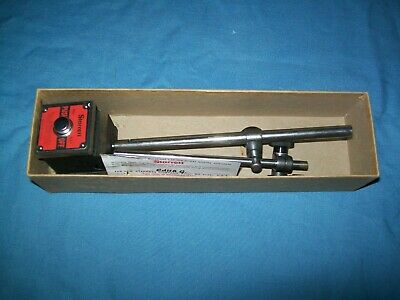 NEW Starrett 657AA Magnetic Mag Base Indicator Holder w/ Attachments 657 OpenBox