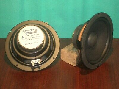Jaycar 2105, 6 inch woofer pair
