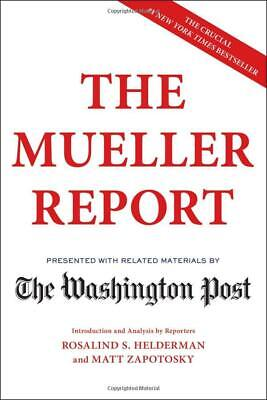 The Mueller Report by The Washington Post 2019 NEW Free 2 Days Shipping US