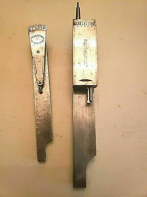 Double Scale Ideal & Koch Test Indictor Lathe tool mechanist tools * MUST HAVE *