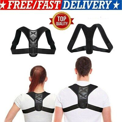 Body Shape Wellness Posture Corrector Adjustable Shoulder Back Support Belt HOT