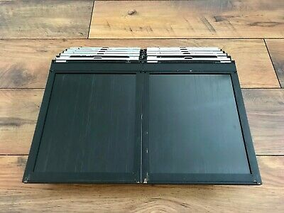2x Lisco Planfilmkassette 8x10 - Cut Film Holder