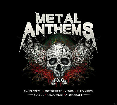 VARIOUS - Metal Anthems - (CD)