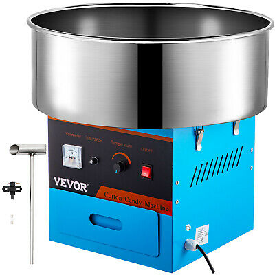 "Electric Commercial Cotton Candy Machine 1030w Floss Maker 21"" Store Booth"