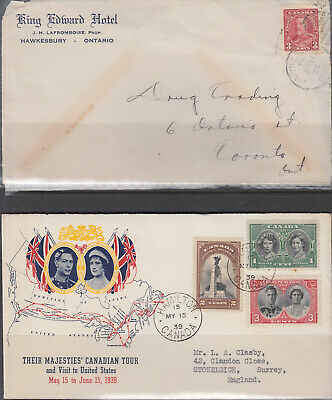 CANADA Selection of twenty-seven covers and postcards includes - 24952
