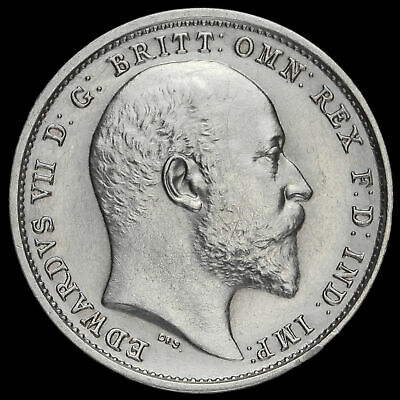 1902 Edward VII Silver Maundy Fourpence, A/UNC