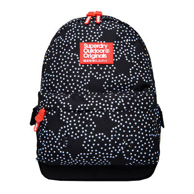 Superdry NEW Women's Print Edition Montana Backpack - Mono Star BNWT