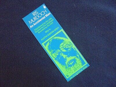 BOOKMARK: IRIS MURDOCH AN ACCIDENTAL MAN~ADVERTISING PENGUIN BOOKS~ca 1975
