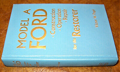 1928 1929 1930 1931 Ford Car Truck Repair Theory Construction 40A Model AA Truck