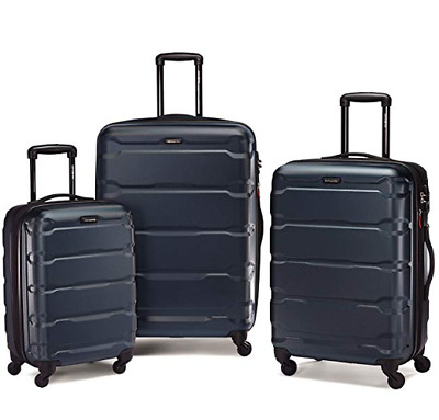 Samsonite Omni Expandable Hardside PC 3 Piece Set With Spinner Wheels Teal