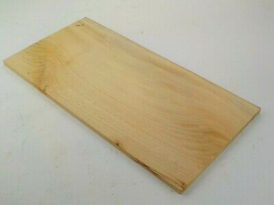English Lime Basswood Linden wood board.  205 x 405 x 10mm. Carving, Shelf. 3474