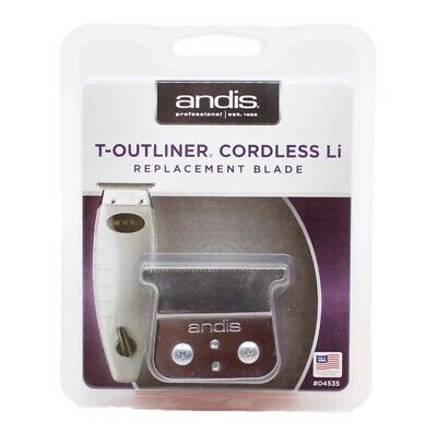 Andis T-Outliner Cordless Li Replacement Blade & Drive + Bracket *MADE IN USA*