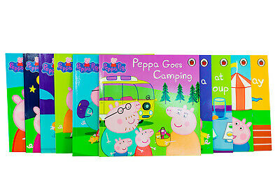 Peppa Pig Favourite Stories 10 Books Children Collection Paperback By - Ladybird