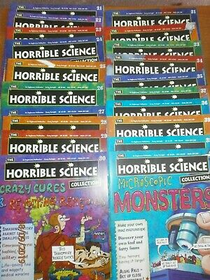 Horrible Science Magazine Collection Issue Numbers 21-40 consecutive 20 magazine