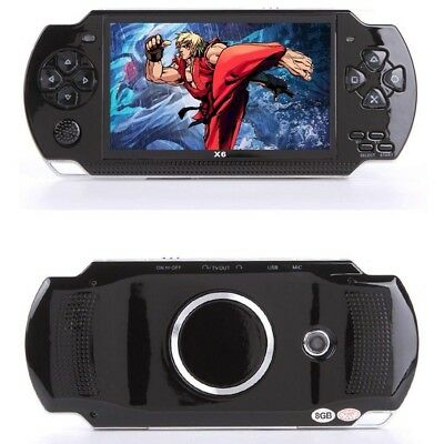 "8G 32 Bit 4.3"" PSP Portable Handheld Game Console Player 10000 Games MP5 Gift"