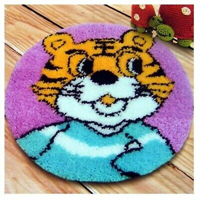 CARTOON TIGER LATCH HOOK RUG KIT from UK Seller, BRAND NEW