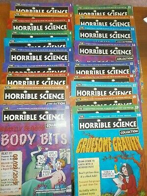 Horrible Science Magazine Collection Issue Numbers 1-20 consecutive 20 magazine