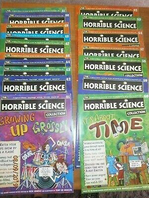 Horrible Science Magazine Collection Issue Numbers  between 41 & 60,magazines 17