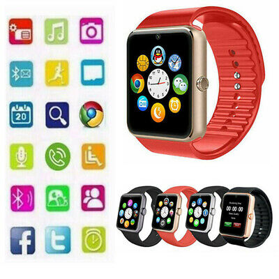 Latest GT08 USB Bluetooth Smart Touch Screen Watch Phone Mate For Android & iOS