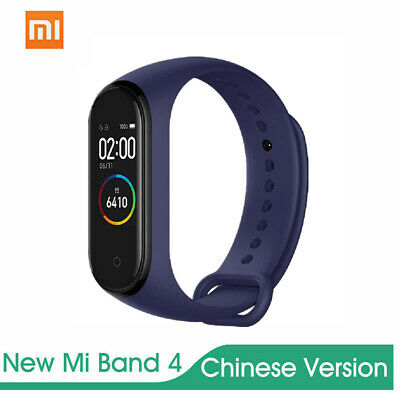 Xiaomi Mi Band 4 Smart Bracelet Schermo A Colori Bt 5.0 Fitness Tracker Blu J5N9