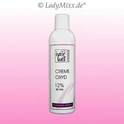 1,9% 3% 4% Creme Oxyd 250ml H2O2 Wasserstoffperoxid Oxydant Hairwell INTENSIVE