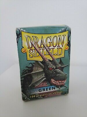 Dragon Shield Japanese Size Green 50ct Card Protector Sleeves Yugioh ATM10104