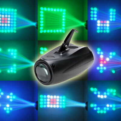 Pattern Stage Effect Light DJ Projector LED Laser Home Party Sound Activate Club