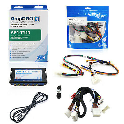 PAC Advanced Amplifier Integration Interface & Speaker Wire Harness For Toyota