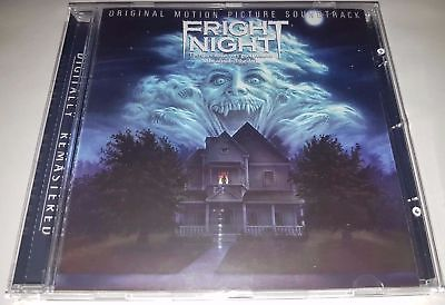 CD Fright Night Soundtrack BRAD FIEDEL Rare Score OST CD Give it up Everlyn King