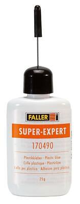 Faller 170490 Super Expert Cement Fast Drying Model glue -  Shipped from USA