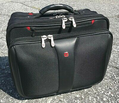 "SWISS GEAR, WENGER 17"" PATRIOT Rolling Luggage Carry On Travel Wheel Bag"