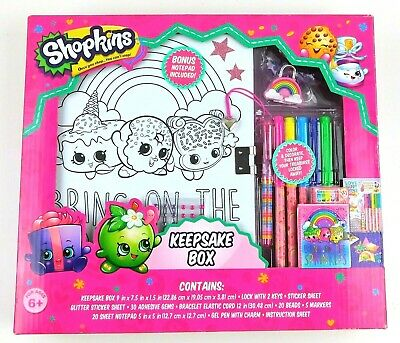Shopkins Keepsake Box with Bonus Notepad