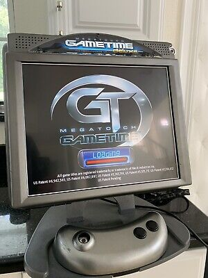 "Megatouch Gametime Deluxe ION GT 17"" Arcade TouchScreen Game Machine *120 Games*"