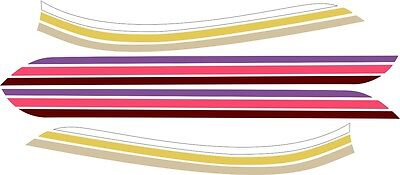 1974 Z90 Z-90 AMF Harley Aermacchi Pastel Decal for Blue or Red Tank 125 175
